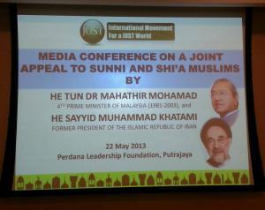 Mahathir - Khatami