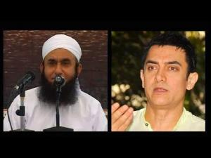 When Aamir Khan [Bollywood] met Maulana Tariq Jameel 2012- Junaid Jamshed