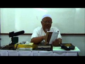 25-05-2013 : KA02 - PROF DR MOHD RADZI OTHMAN ; TAUHID RUBUBIYYAH & ULUHIYYAH]