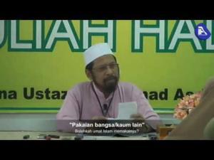 Bolehkah umat Islam memakai pakaian yang diperkenalkan oleh bangsa lain?