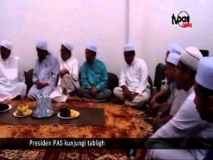 Presiden PAS kunjungi tabligh
