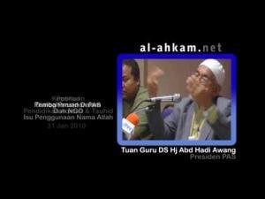 TG Hj Hadi: Wahabi adalah ASWJ.. Asya'irah pun ASWJ.. Maturidiah juga ASWJ..