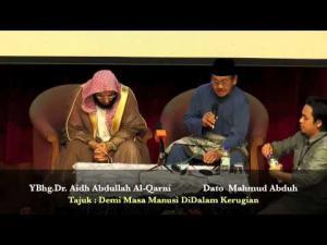 06-09-2013 DR.AIDH ABDULLAH AL-QARNI Tajuk : Sesungguhnya Manusia DiDalam Kerugian