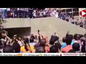 طلاب جامعة القاهره يطردون على جمعه