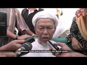 Ulasan TGNA mengenai isu Nurul Izzah | 9 Nov 2012