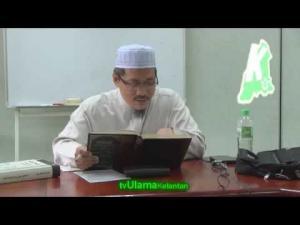 Perkara yang membatalkan puasa (2) -- Syarat Wajib Puasa--  TG. Dr. Abd Basit Abd Rahman