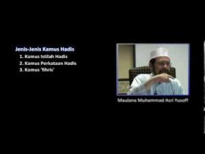 Maulana Muhammad Asri Yusoff - Antara Jenis Kamus Hadis