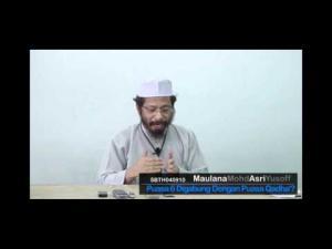 Bolehkah Menggabungkan Puasa Enam Dengan Puasa Qadhak?