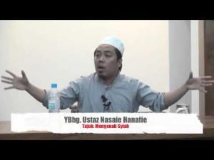19-06-2013 USTAZ NASAIE HANAFIE Tajuk : Mengenali Syiah