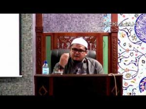 HASRIZAL-ANTI HADITH_KASSIM AHMAD HANYALAH SATU DRP SUBJEK YG ADA DLMNYA
