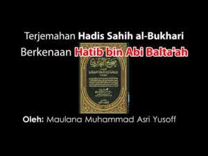 Benarkah Sahabat Hatib bin Abi Baltaah Seorang Munafiq?