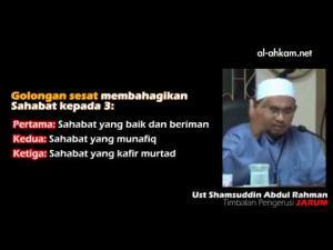 Benarkah Dakwaan Ada Sahabat Murtad, Munafik Dan Sesat?