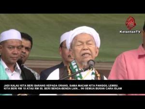 Ucapan Tok Guru BR1M & Haiwan vs Versi TV3 & Utusan FULL