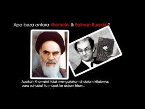 Antara Khomeini dan Salman Rusydie