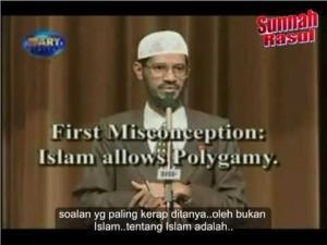 03/15 (SFTI) Kenapa Islam BENARKAN Poligami  - Dr Zakir Naik (subtitle BM)