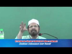 Maulana Asri Yusoff - Bolehkah Sirah Nabi SAW Dinovelkan?