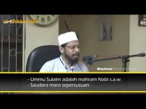 Maulana Asri: Boleh Tabaruk Dengan Nabi Tapi Hati-hati Dengan Orang Lain