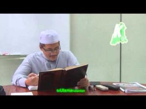 Perkara yang membatalkan puasa (1) -TG. Dr. Abd Basit Abd Rahman