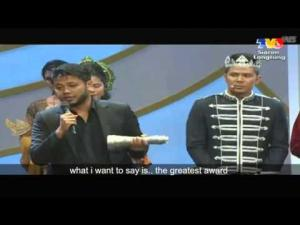 Ucapan Pierre Andre yang Terbaik Dalam Anugerah Skrin 2012