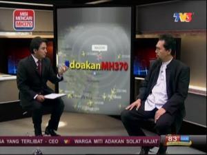 Buletin Utama TV3 MH370 Kapten Norudin Abd Majid  #PrayForMH370 #doakanMH370