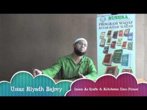 19-05-2014 USTAZ RIYADH BAJREY Tajuk: Imam As Syafie & Kehebatan Ilmu Firasat