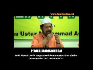 Maulana Asri Yusoff - Perihal Hadis Mursal Imam Malik